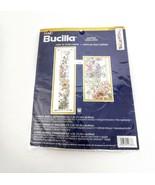 Bucilla Floral Counted Cross Stitch Kit Wallhanging Long Butterflies Bir... - $42.95
