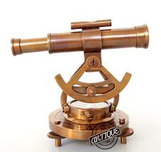 Finish Antique Solid Alidade Compass Nautical Decorative Item Elegant Vi... - $48.38