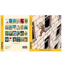 Tintin Booklet of 24 bookcover postcards set image 3
