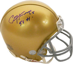 Paul Hornung signed Notre Dame Fighting Irish Full Size Replica Helmet 5... - $194.95