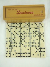 Brass Spinner Dominoes Double Six Set of 28 Vintage - $67.89