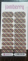 JAMBERRY Nail Wraps ~ October 2016 Classic Stylebox ~ PLAID ~ Full Sheet - $21.66