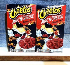 Cheetos Mac 'n Cheese LOT OF 2 Flamin' Hot Flavor 5.7 Oz Limited Edition - $12.95