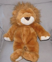 "1999 COMMONWEALTH 20"" Plush LION Orange Brown Mane Bean Bag Stuffed Anim... - $47.02"