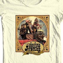 The Frogtown Hollow Jubilee Jug Band t-shirt retro emmett otter Christmas tee image 1