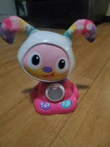 Fisher Price Bright Beats Dance And Move Beat Bow Wow Pink Smart Stages  working - $11.88