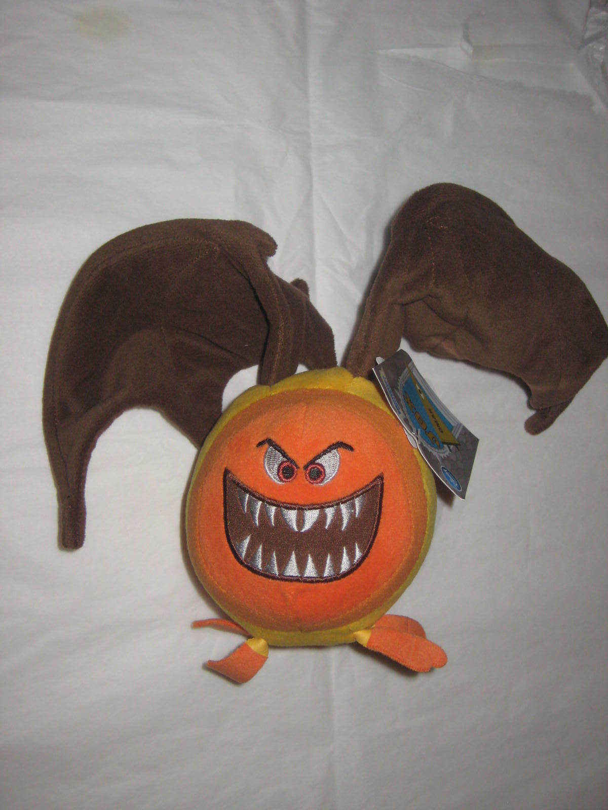 Primary image for Disney Pixar Omar  with Bat Wings Plush. From Monsters University. Brand New.