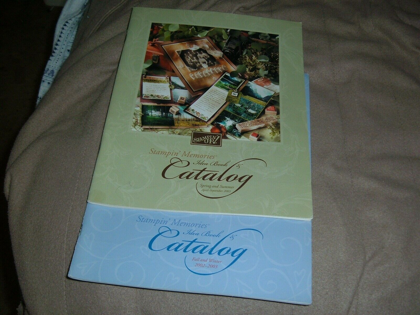 Stampin Up Catalog & Idea Book Fall/ winter/ spring /summer 2002/03