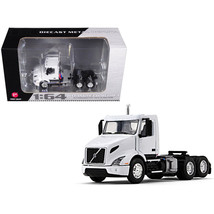Volvo VNR 300 Day Cab White 1/64 Diecast Model by First Gear 60-0372 - $56.48