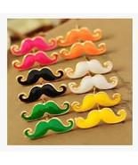 Fashion Women Earrings vintage Moustache Stud - $1.99