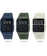 Casio CA53WF-2B / CA53WF-3B / CA53WF-8B Men's 8 Digit Alarm Calculator Watch - $22.28 - $22.72