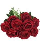 8cm European Artificial Flowers Rose Floral Bouquet for Home Wedding Dec... - £3.25 GBP+
