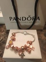 Pandora charm bracelet  - $60.00