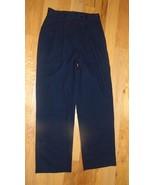 Pants Newport News Easy Style Black SZ 8P-Pleats-Belt Loops-Pockets-Nice... - $14.84