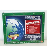 United States Map Game History & Geography American Classic Edition - $24.74
