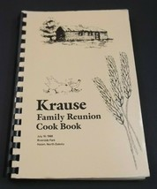 Krause Family Reunion Cook Book - $14.99