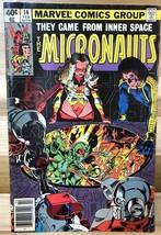 MICRONAUTS #14 (1980) Marvel Comics VG - $9.89