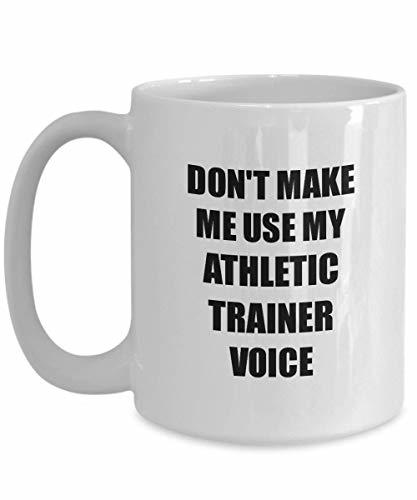 Primary image for Athletic Trainer Mug Coworker Gift Idea Funny Gag for Job Coffee Tea Cup 15 oz