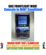 Nintendo Game Boy Color GBC Frontlight Front Light Frontlit Mod Atomic M... - $153.75