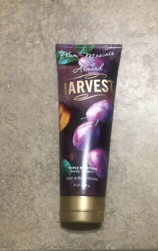 Bath Body Works Plum Moscato Almond Cream Harvest retired fall autumn image 1