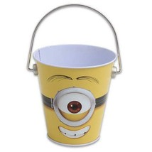 Despicable Me Party Favors Treat Goodies Tin Pail 1 Count Party Supplies... - $3.71
