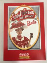 Soda fountain Fountain Sweetheart  Barbie Coco Cola 1996  - $32.99