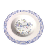 Royal Doulton Bowl | Coniston Soup Bowl | White and Blue Dish  - $29.99