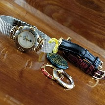 New Vintage Womens POLO 3 in 1 Multi Band & Bezel Watch Beverly Hills Polo  - $95.00