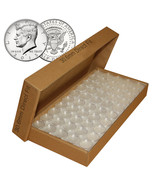 1000 Direct Fit Airtight 30.6mm Coin Holders Capsules For JFK HALF DOLLARS - $222.75