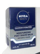 2 Pack - Nivea Men Maximum Hydration Moisturizing Post Shave Balm - 3.3 oz ea - $19.99