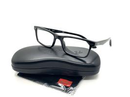 RAY-BAN RB5288 2000 Eyeglasses Frame 52-18-140 Black Polished  - $77.57