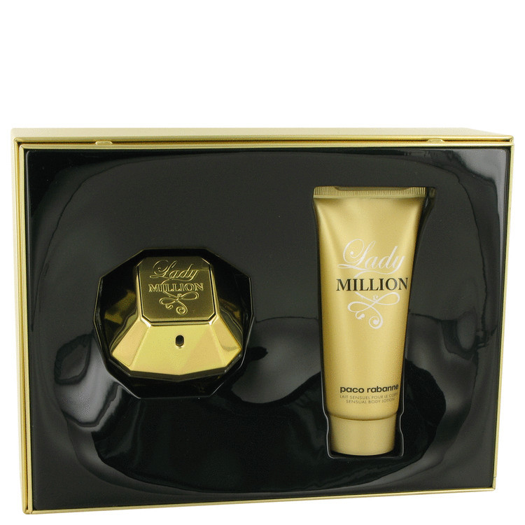 Lady Million by Paco Rabanne 2 piece gift set for Women - $95.95