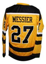 Mark Messier #27 Cincinnati Stingers Retro Hockey Jersey New Yellow Any Size image 4