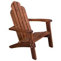 Wood Kids Adirondack Chair Baby Kid Child Indoor Outdoor Patio Yard Furn... - $58.89