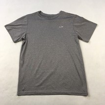 C9 By Champion Mens Active T-Shirt Sz XL Heather Gray Short Sleeve Stretch Top - $8.17