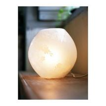 "IKEA KNUBBIG Table lamp, cherry-blossoms white,7"" image 5"