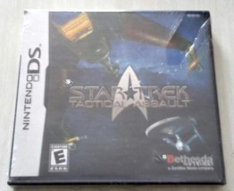 Star Trek tactical assault new wrapped Nintendo Ds Video Game  - $7.50