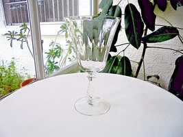 Fostoria Silver Flutes Clear Crystal Low Water Goblet Multiple Avail - $9.90