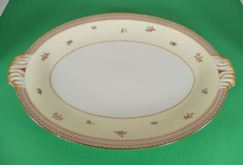 """Meito China Asama Shape MEI299 Handled Large Oval Serving Meat Platter 17"""" - $46.48"""