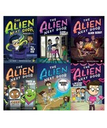 THE ALIEN NEXT DOOR Childrens Series by A.I. Newton PAPERBACK Set of Boo... - $34.99