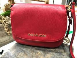 Michael Kors Classics Bedford Pocket Flap Small Crossbody Bag Pebbled $298 New image 2