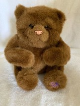 """Furreal Friends 2009 Brown Bear Cub 8"""" Interactive Animated Soft Play FR... - $15.83"""