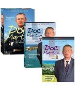 Doc Martin Complete Series Seasons 1-8 + Movies (DVD 21-Discs) Region 1 ... - $38.89