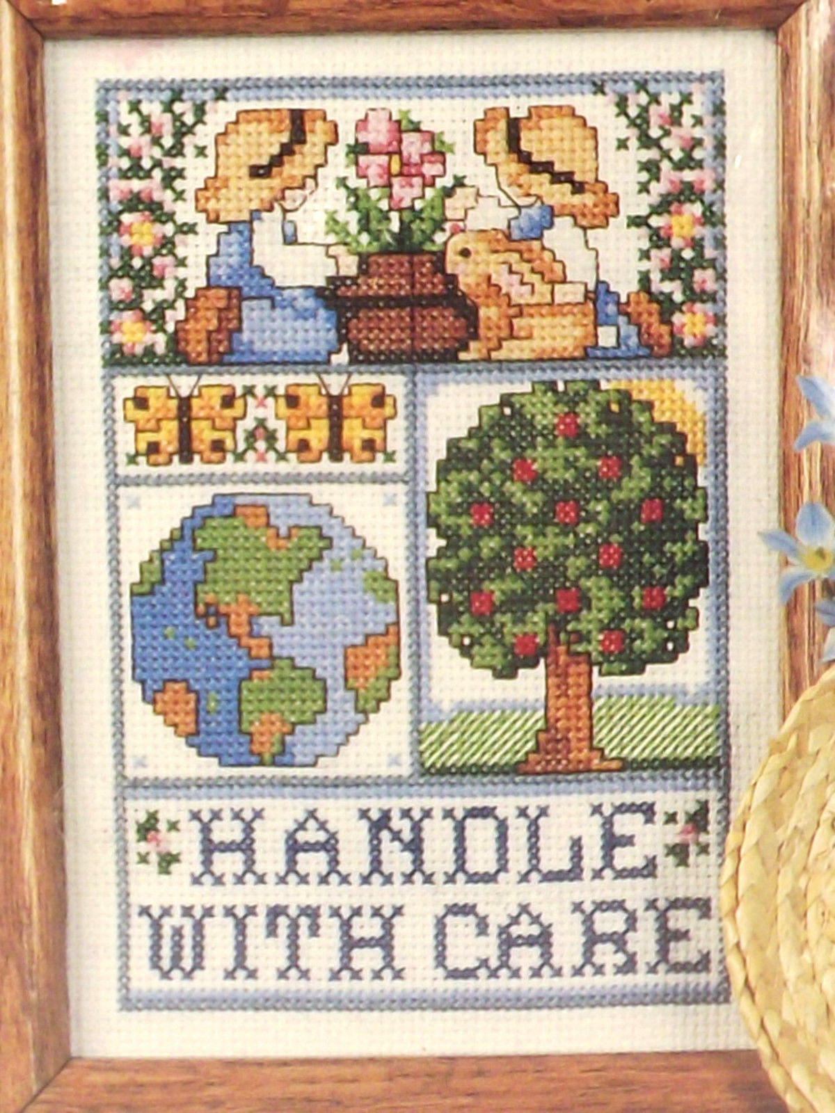 Bucilla Counted Cross Stitch Kit Handle With Care Gallery of Stitches J. Elliott