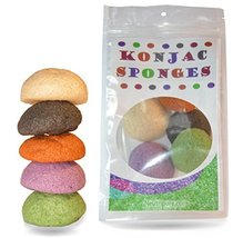 Konjac Sponge Set: Organic Skincare Facial for Natural Exfoliating and Deep Pore image 5