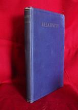 Albert Einstein RELATIVITY THE SPECIAL AND GENERAL THEORIES -1920 1st US - $1,347.50
