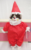 "Marjorie Spangler Porcelain The Little Clown 16"" Doll  Red Outfit Origin... - $43.55"