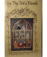 """Pattern Rag Bag Doll & Friends (cut) 8"""" cloth dolls - $3.99"""