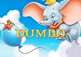 CAKEUSA Dumbo Party Birthday Cake Topper Edible Image 1/4 Sheet Frosting - $9.99