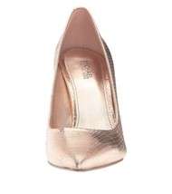 Michael Kors Claire Pump Metallic Leather Soft Pink Size 9 MSRP $120 - $85.49